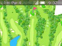 ラウンド中にゴルフ場レイアウトのみを見たくなった時には